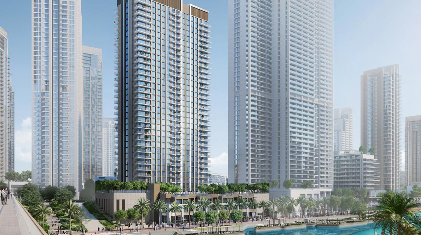 Creek Palace Apartments by Emaar